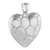Heart Shaped Cremation Pendant