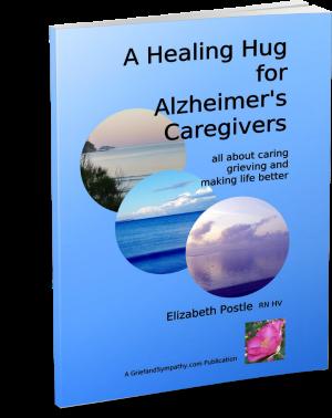 Alzheimer's book by Elizabeth Postle - Cover