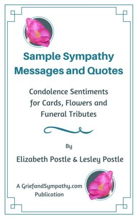 Sample condolences - for those who have lost a husband or wife