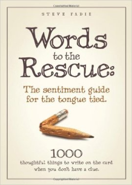 Words to the Rescue Book Cover