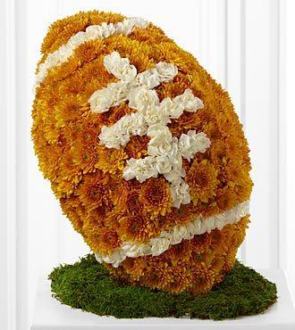 Football Flower Arrangement