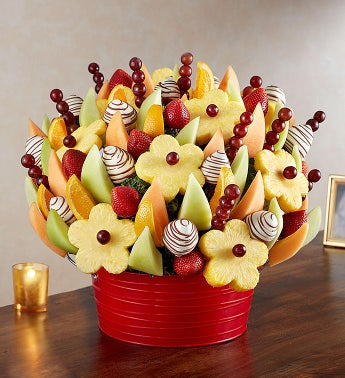 Fresh Fruit Bouquet for Sympathy