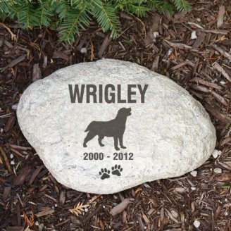 Pet Breed Memorial Stone