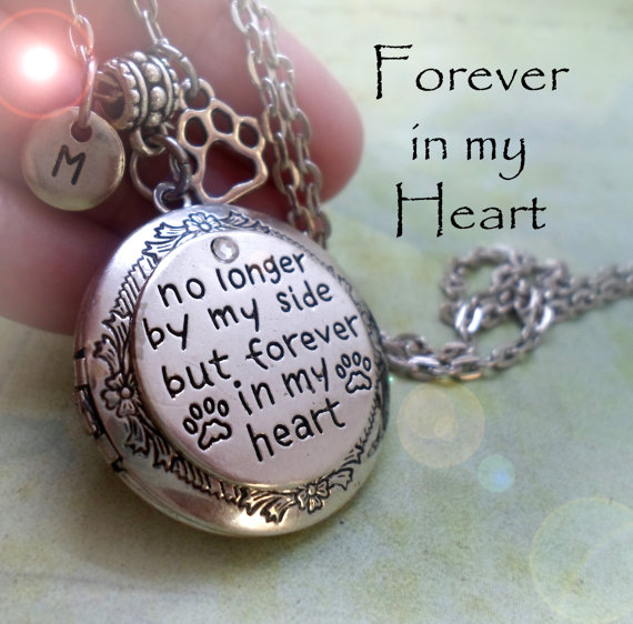Pet Loss Photo Memorial Locket