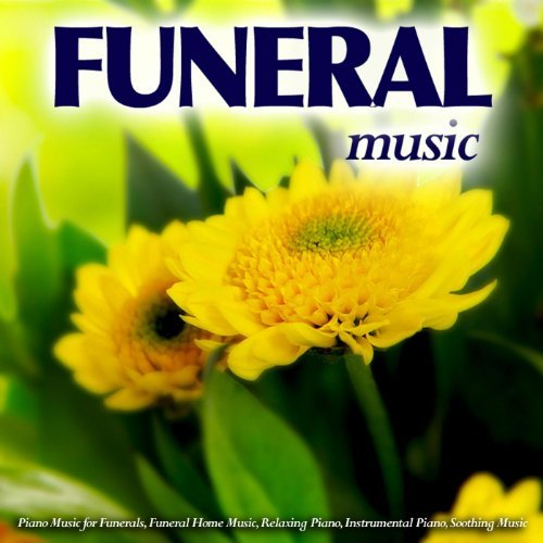 Funeral Music Album Cover with Yellow Flower