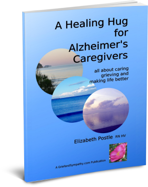 Alzheimer's book by Elizabeth Postle - Cover