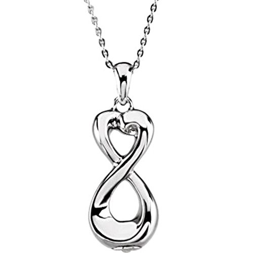 Cremation Ashes Pendant, Infinite Love