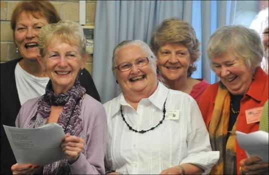 singing in choir credit manly daily