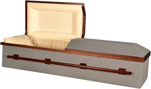 Star Legacy Blue Dome Casket - Biodegradable
