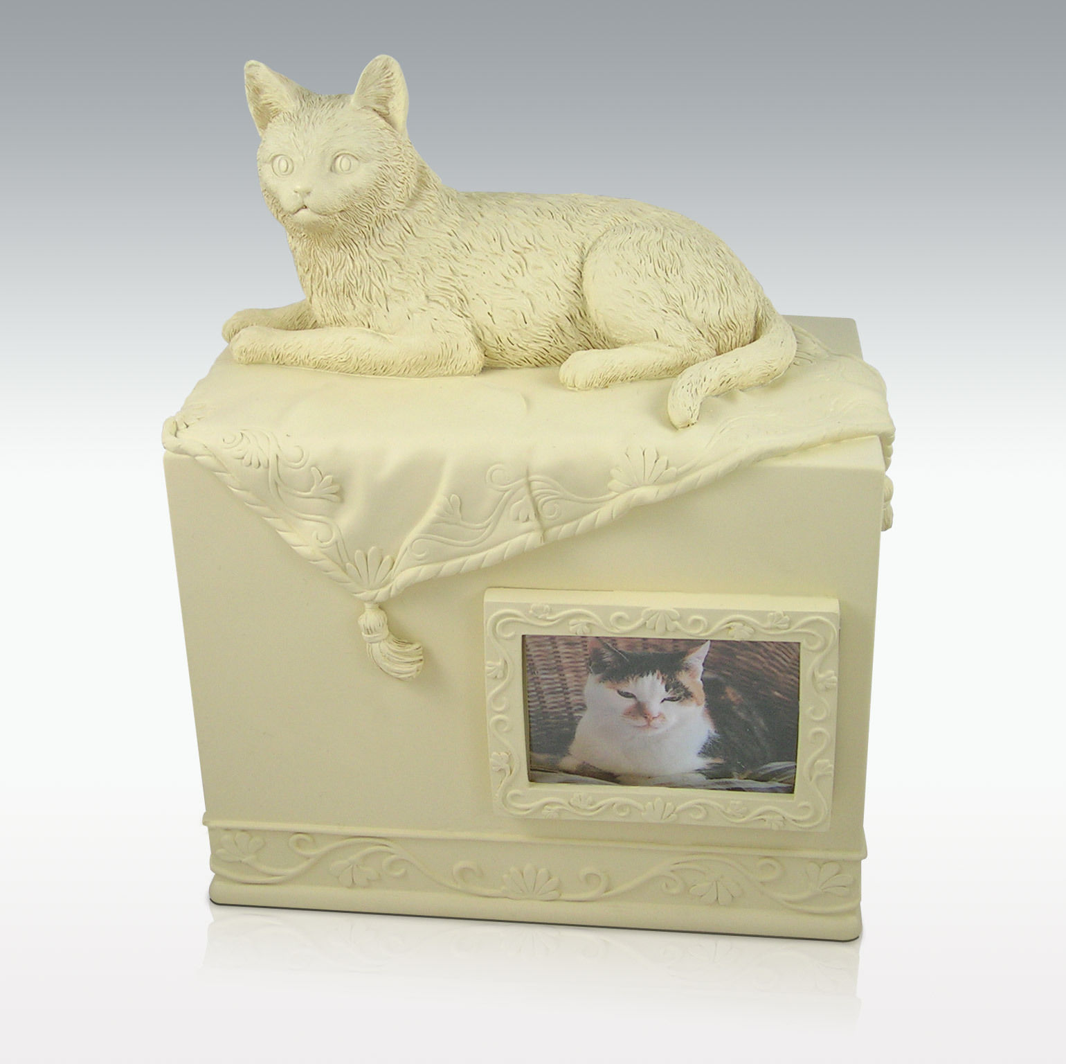 Cat Urn with Photo