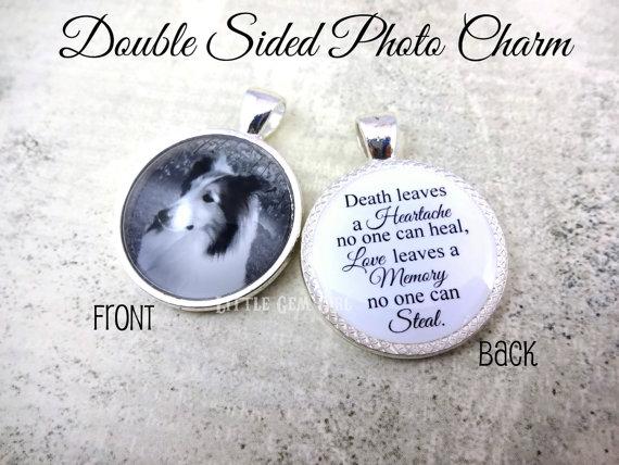 Pet memorial jewelry to treasure customisable photo memorial jewelry aloadofball Choice Image