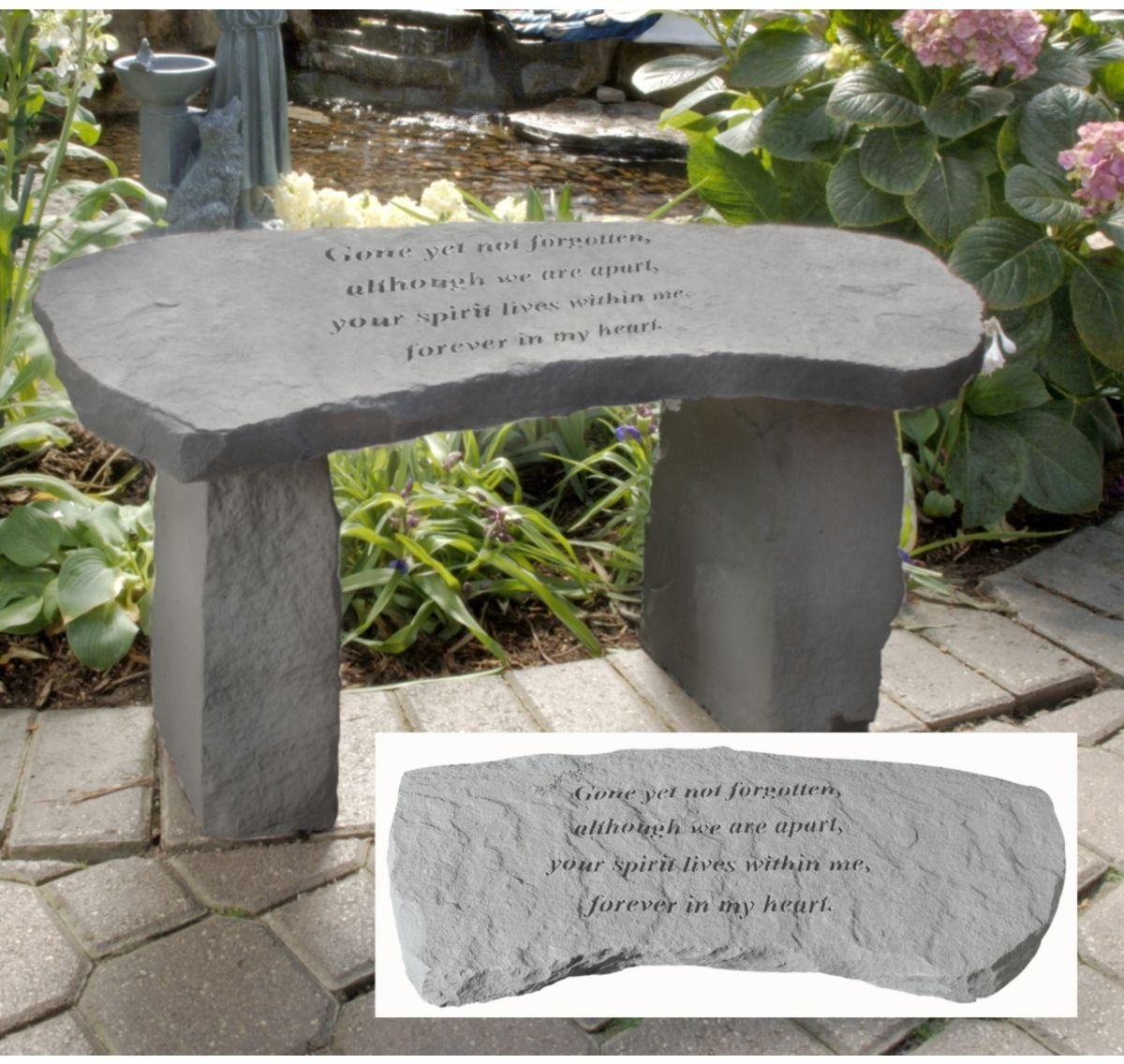 Memorial bench - Gone but not forgotten