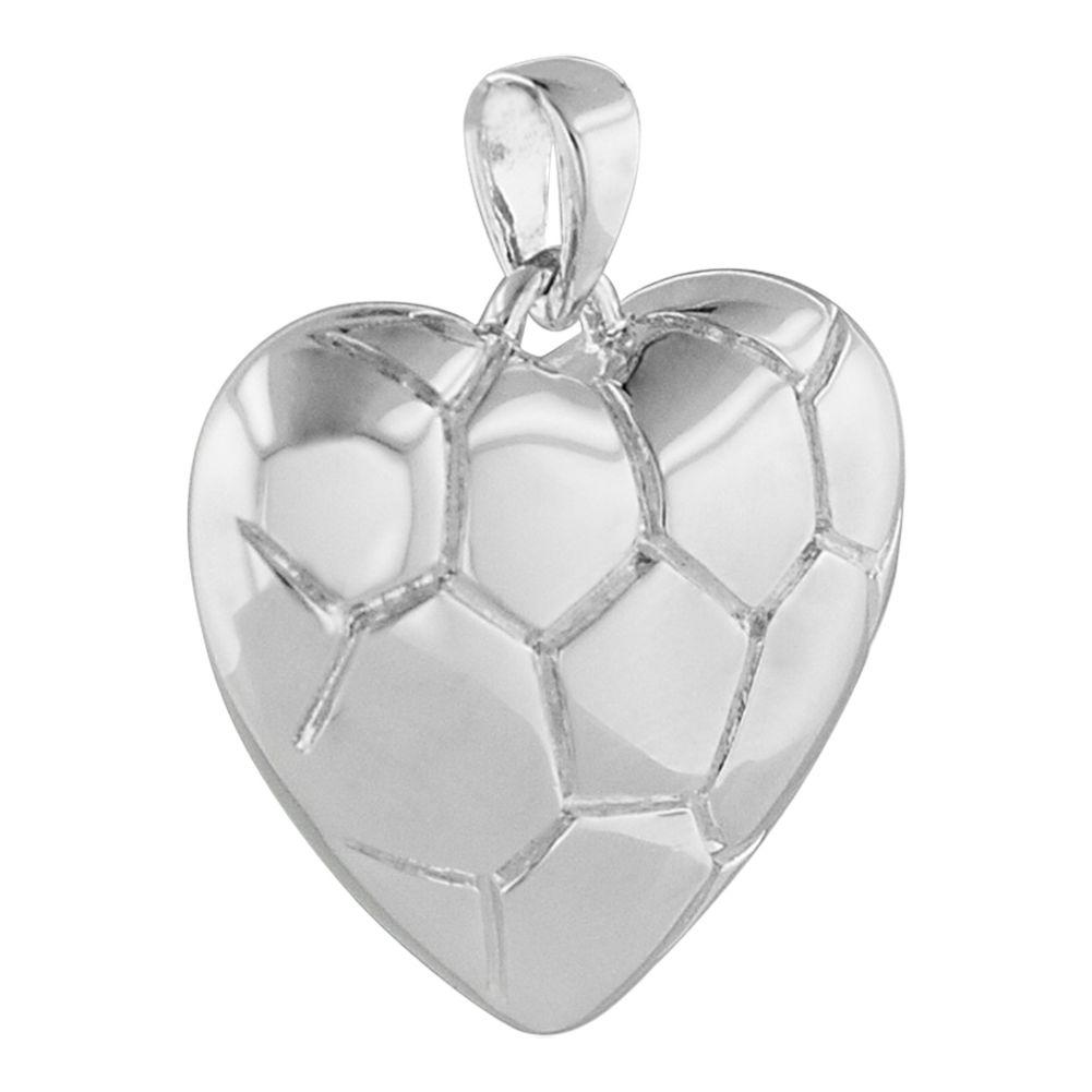 heart cremation pendant