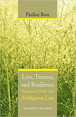 Dr Pauline Boss: Loss, Trauma and Resilience