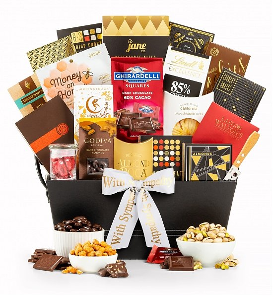 Gift Basket - Our Condolences - Gourmet Foods