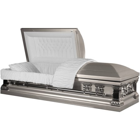 Radiant Light Casket Pewter Colour