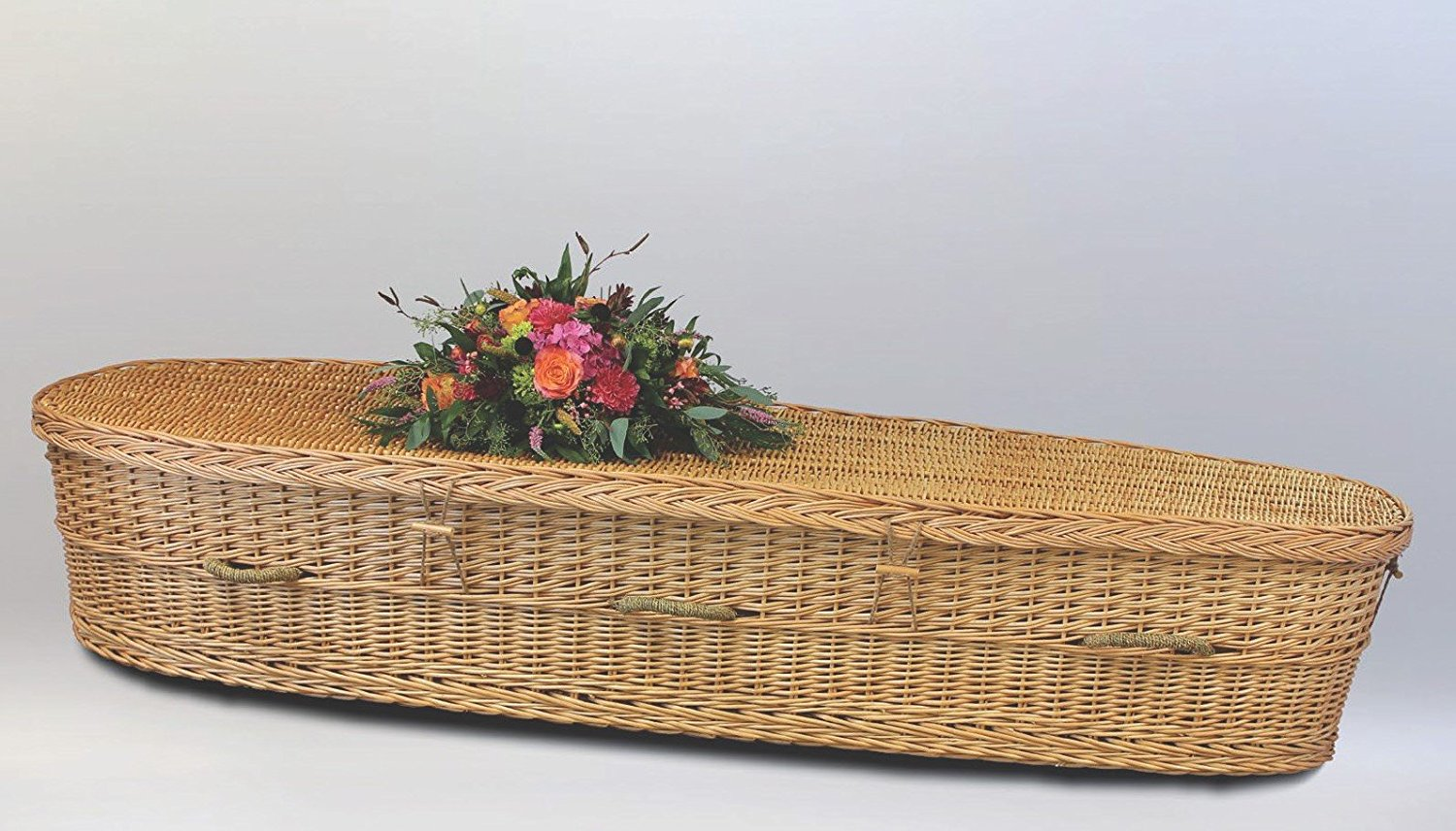 Willow biodegradable coffin