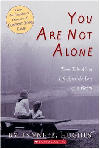 You are not alone - grief book for teens