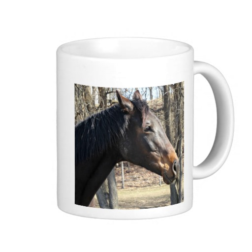 Customisable Pet Memorial Mug with Horse