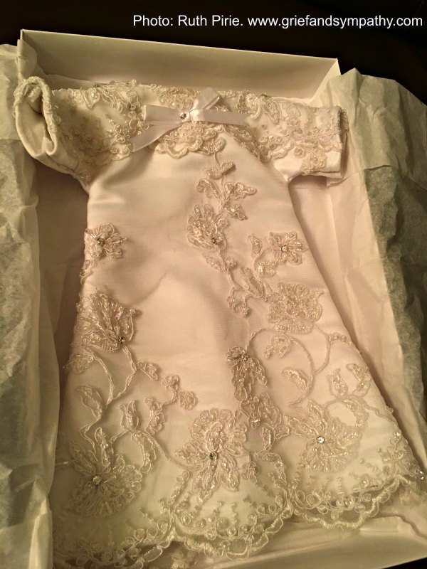 Angel Gown to honour a miscarried baby
