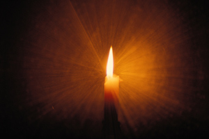 Candle for hypnosis for grief.