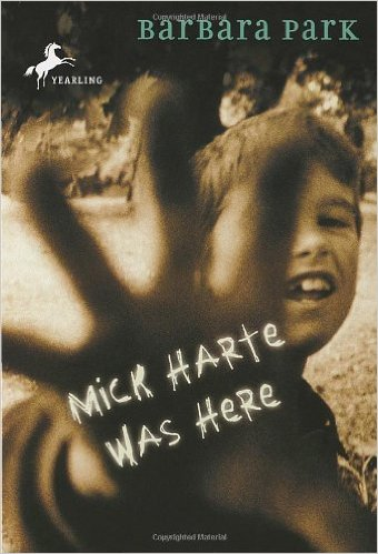 Mick Harte Was Here Book Cover