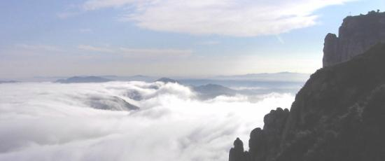 Clouds symbolising the fog that can cloud the brain in early Alzheimer's disease