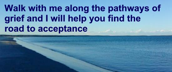 Grief Quote - Walk with Me along the Pathways of Grief