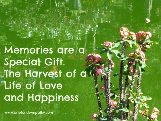 Quote - Memories are a special gift