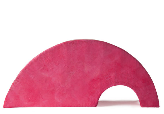 Pink Rainbow Urn in biodegradable paper by Muses Design Urns