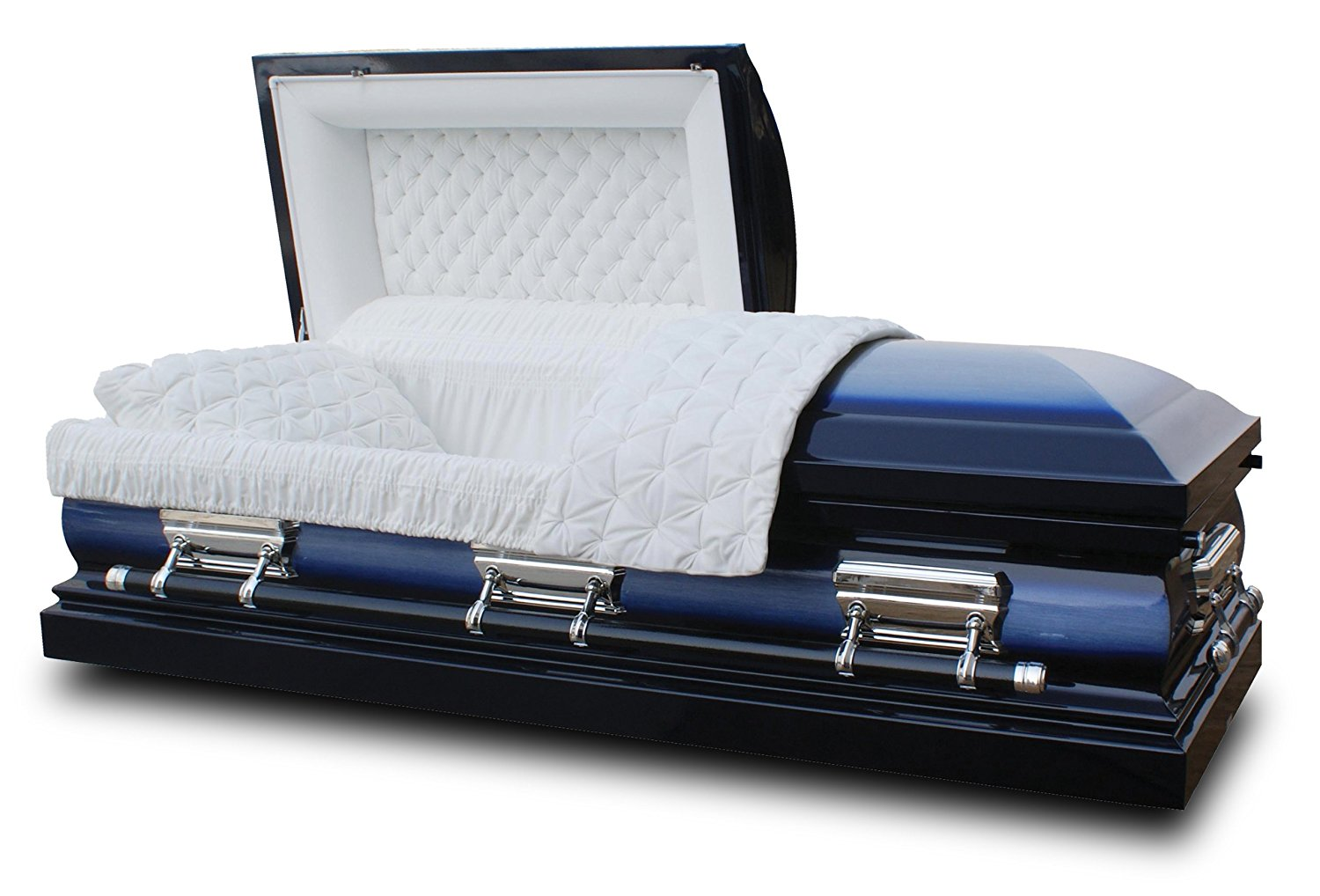 Midnight Blue Casket Coffin