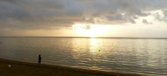 Grief affects health - Calming sea views help to reduce stress levels.
