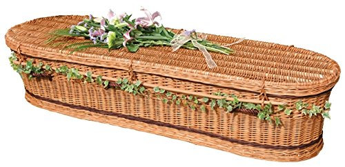 Green Coffin - Willow - The Coffin Company
