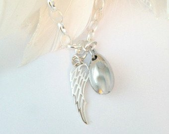 Angel Wing Cremation Jewelry