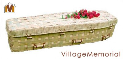 bamboo biodegradable coffin