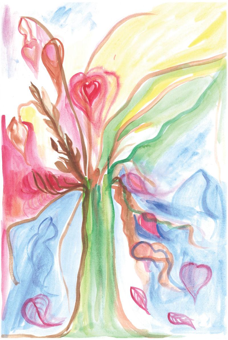 Tree of Hearts by Irene Renzenbrink